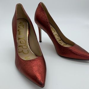 Sam Edelman Red Shoes. GUC. Sz 51/2.